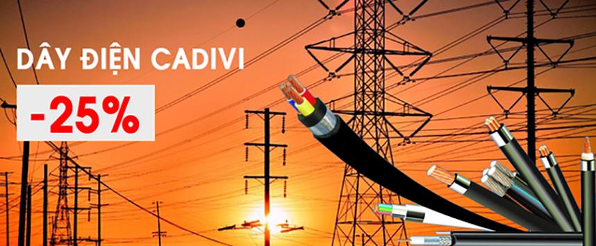 đại lý dây điện Cadivi