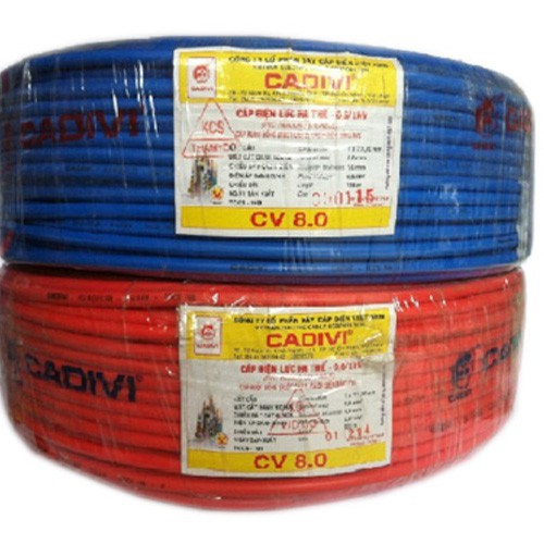 Dây điện cadivi 8.0 giá bao nhiêu