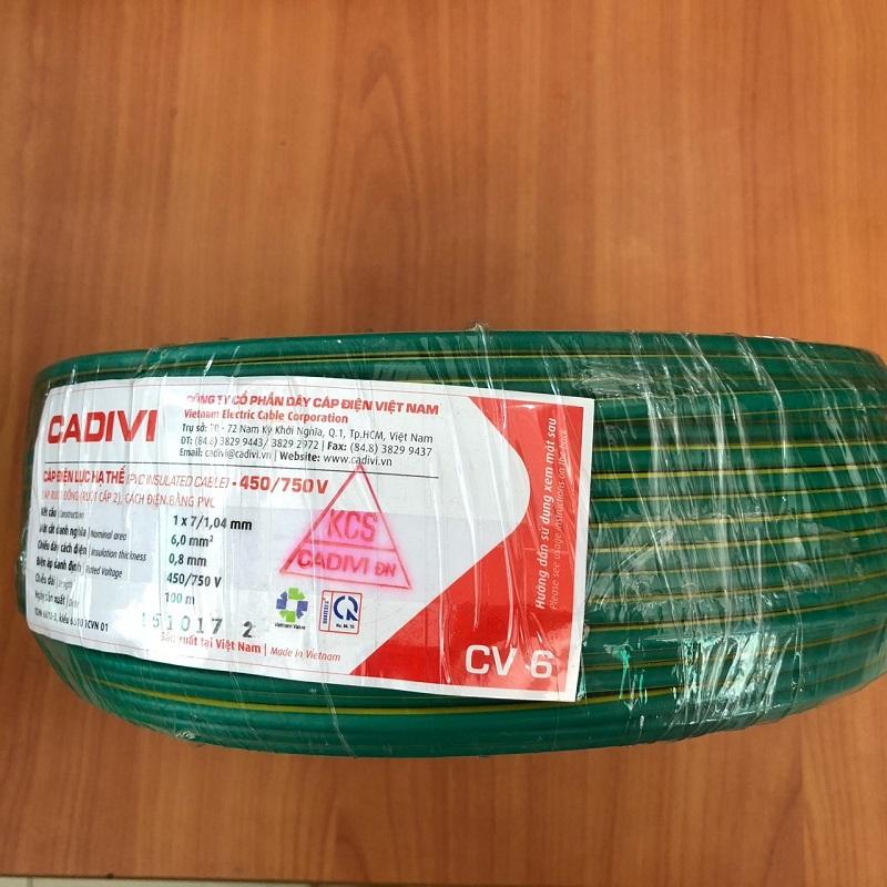 Giá dây điện Cadivi