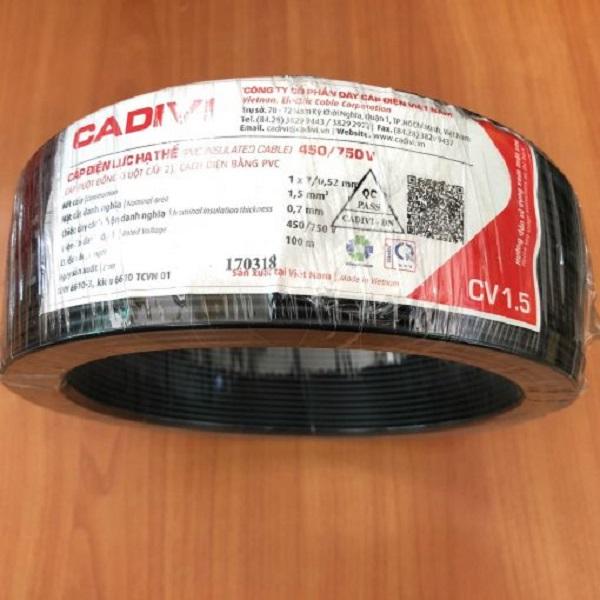 Giá tiền dây điện Cadivi